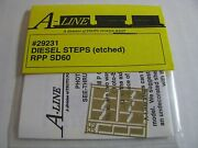 A-line Ho 29231 Diesel Steps Etched Brass Rpp Sd60 Proto Power West