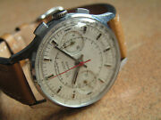 Vintage Sekonda Chronograph Cal. 3017 From First Year Of Prod. 1966 Orig. Cond.