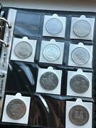 1998 - 2013 British Territories Silver Cuni 13 Andpound2 Coins Collection Job Lot