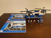 Lego Heavy-lift Helicopter 4439 - 100 Complete With Instructions