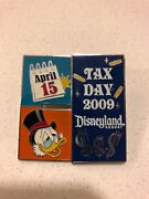 Pp Pre Production Disney Pin Tax Day Scrooge Mcduck Tax Day April 15 Irs Le 1000