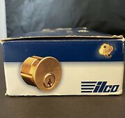 Pack Of 10 Boxes Kaba Ilco 7165ca2-10b-ka2 1 Mortise Cylinder Brass