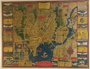Great Pictorial Map Of New Haven Con And Yale By Carina Eaglesfield Mortimer.