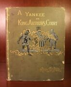 Mark Twain A Connecticut Yankee In King Arthurand039s Court 1889 First Edition 1st