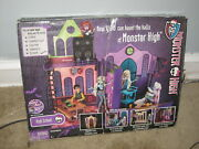 Monster High Doll House Original High School Playset Very Hard To Find