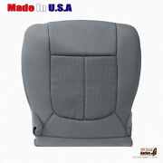 2011 2012 2013 Ford F250 F350 Xlt Driver Bottom Replacement Seat Cover In Gray