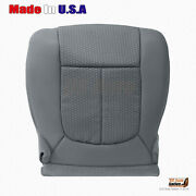 Fits 2011 2012 2013 Ford F250 Xlt Driver Bottom Replacement Cloth Cover In Gray