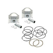 Kit Piston Forgandeacute 3 1/2 Std Taille Haute Compression - S And S Cycle