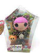 Lalaloopsy Littles Sister Whiskers Lions Roar Safari Outfit 7 Doll Figurine Nib