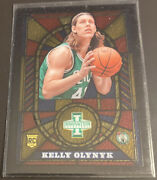 2013-14 Innovation Basketball Stained Glass Gold Rc Kelly Olynyk 14 Ssp Celtics