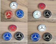 Magnetic Mercedes Golf Ball Markers - 1 Diameter - Sets Of 2 3 And 4 Markers