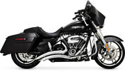 Vance And Hines - Grand Rayon Dand039andeacutechappement 2 En 2 Chrome - Harley Davidson Abs