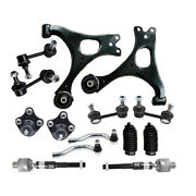Control Arm Ball Joint Sway Bar Tierod Kit For 06-2011 Honda Civic Non-si Model