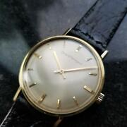 Mens Girard Perregaux 33mm Gold-capped Hand-wind Dress Watch, C.1960s Ms212blk