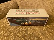 1985 First Hess Truck Toy Bank Includes Original Box, Inserts And Working Lights