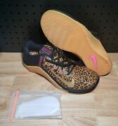 Nike Metcon 6 Womenand039s Sz 12 Cheetah Weightlifting Crossfit At3160 096 Ships Fast