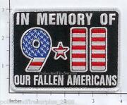 New York - 9-11 In Memory Of Our Fallen Heroes Ny Fire Dept Patch V3 Dc Pennsy