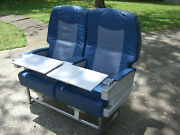 Vintage Delta Airlines First Class Seat Assembly 767 Aircraft Weber Zodiac 6000andnbsp