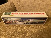 1990 Hess Toy Tanker Truck With Box Inserts And Working Lights
