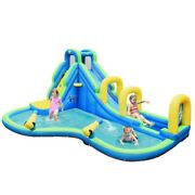 New Inflatable Water Park Slide Castle Bounce House Climbing Wall Splash Pool