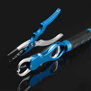 Fishing Pliers And Grip Tackle Gear Hook Recover Cutter Line Split Ring Aluminium