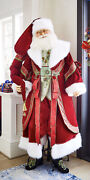 Katherineand039s Collection Christmas Wishes Lifesize Santa Doll 11-911526 New