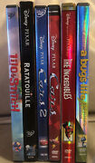 Disney 6 Dvd Lot Cars 1 And 2 Lilo And Stitch Incredibles Ratatouille Bugandrsquos Life