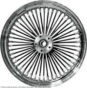 Fat Daddy Front Wheel 18x3.5 Dual-disc Black - Harley Davidson Glide Abs Road...