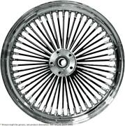 Fat Daddy Front Wheel 21x3.5 Dual-disc Black - Harley Davidson Glide Abs Road...