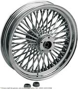 Fat Daddy Front Wheel 18x3.5 Dual-disc Chrome - Harley Davidson Abs Glide Roa...