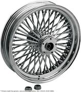 Fat Daddy Front Wheel 21x2.15 Single-disc Black - Harley Davidson Softail Fxs...