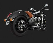 Exhaust Gren Blk Scout - Indian Scout Abs Sixty - Vance And Hines