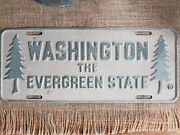 Collectable 1954 Washington State License Plate
