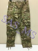 Multicam Flame Resistant Army Combat Pants W/crye Precision Knee Pad Cut Ss Nwt