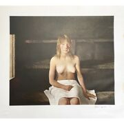 Andrew Wyeth - The Sauna Signed Collotype 1978 7/200