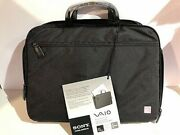 Sony Vaio Vgp-ckc4 15-inch Smart Protection Laptop Case Black New With Tags