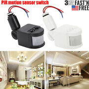 Outdoor Led Security Pir Infrared Motion Sensor Detector Switch Wall Light 180°