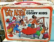 Vintage 1973 Fat Albert And The Cosby Kids Lunch Box W/ Thermos William H. Antique