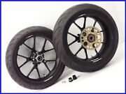 2008 Gsx-r1000 And03905and03908 Marchesini M10s Aluminum Forged Wheel Front Rear Set Yyy