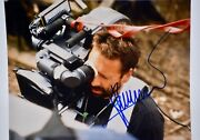Luc Besson In Personsigned Color 8x10 Photograph - Anna - Collectible