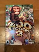 Zoo Tycoon 2 - Pc Complete Factory Sealed New In Box Vintage Rare Computer Game