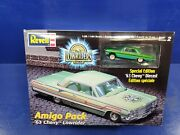 1963 Chevy Impala Revell Lowrider Magazine Collectible Chevrolet 1/64th Green