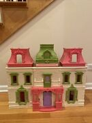 Fisher-price Loving Family Dream Dollhouse Rare 2012 As Is
