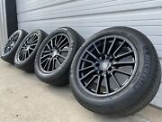 19 Porsche Boxster Cayman Gloss Black Factory Oem Wheels And Tires 67332