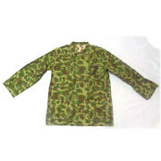 Wwii Us Army Solider Usmc Pacific Camo Cotton Reversible Jacket Coat Tops Xl