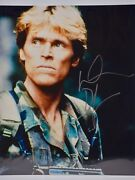 Willem Dafoe Signed 8x10 Photograph - From Platoon / Spider-man Collectible