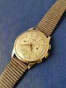 Zenith Chronograph 18 Kt Pink Gold Calibro 156 Manual Wind 37.5 Mm