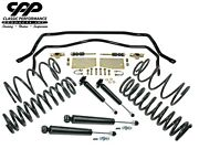 1964-66 Chevy Chevelle El Camino Swaybar Drop Coil Leaf Spring Kit Front Rear