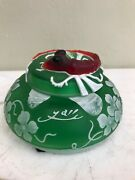 Unique And Unusual Glass Cookie Jar