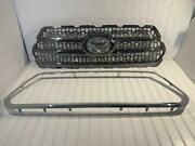 2016 2017 2018 2019 Toyota Tacoma Front Upper Grille Grill Oem